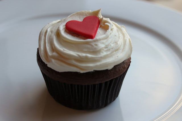 red heart fondant for cupcakes