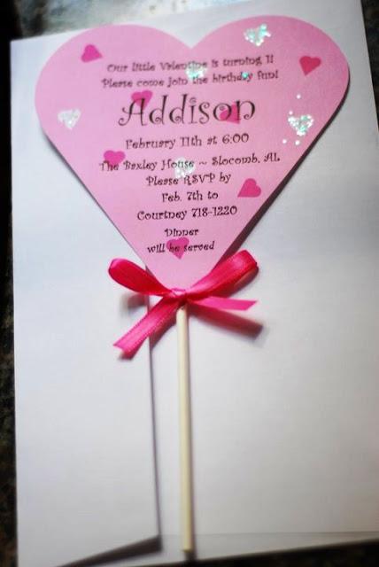 A Simple Favor Custom Valentine Birthday Invitations