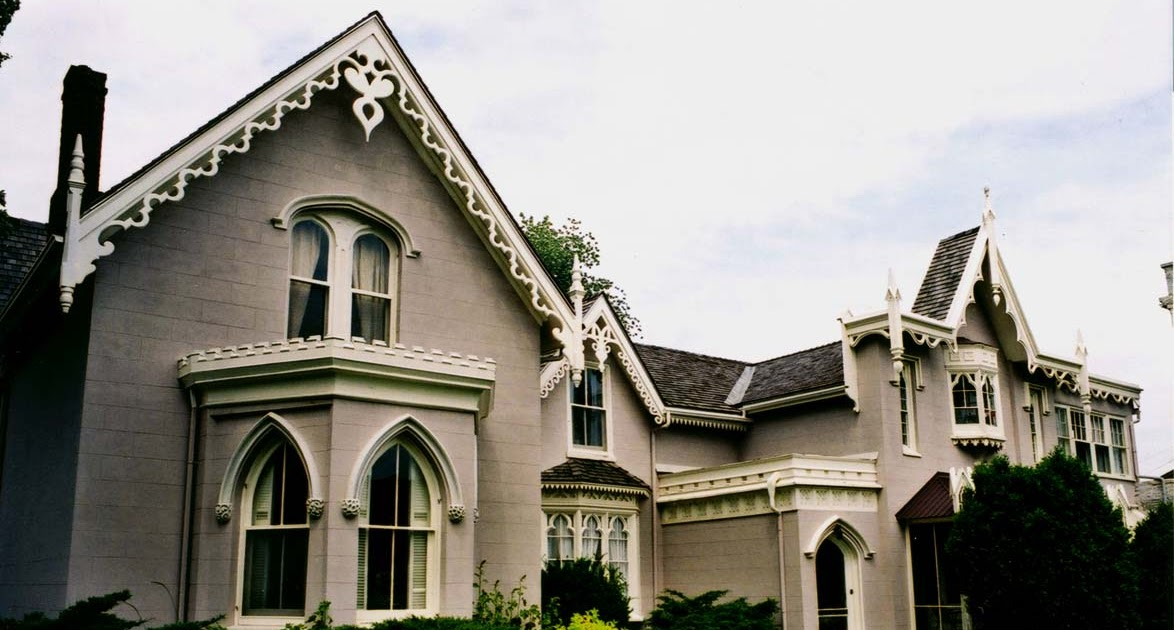 A Field Guide To Building Watching 16 Early Gothic Revival
