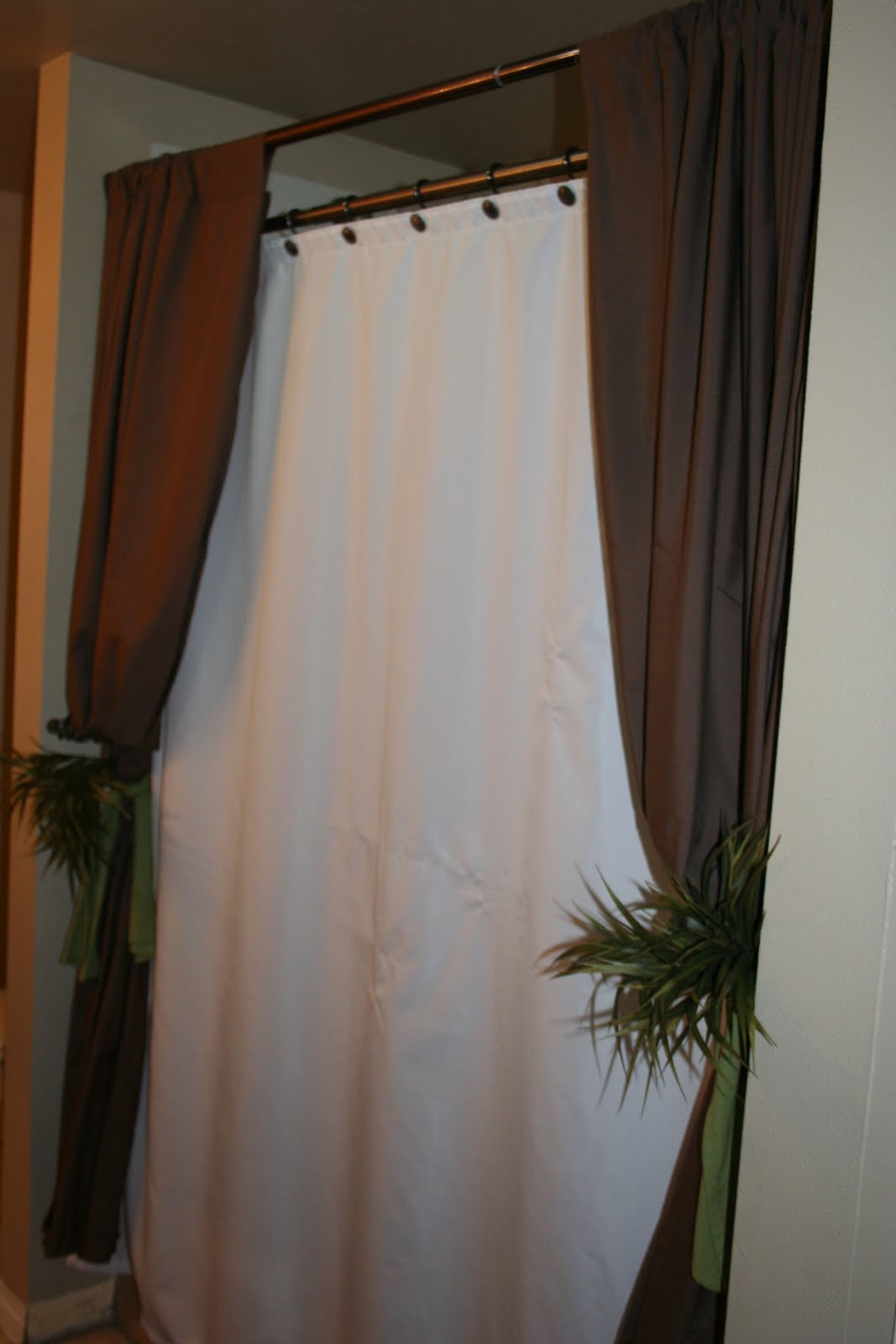 Drab To Fab Flat Sheets Into Curtains