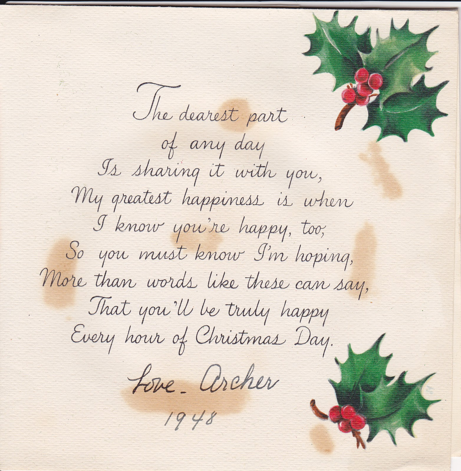Christmas Quotes For Cards: Madeline's Memories: Vintage Christmas Cards