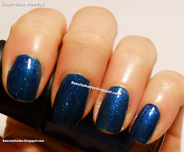 Gosh Blue Monday Swatch