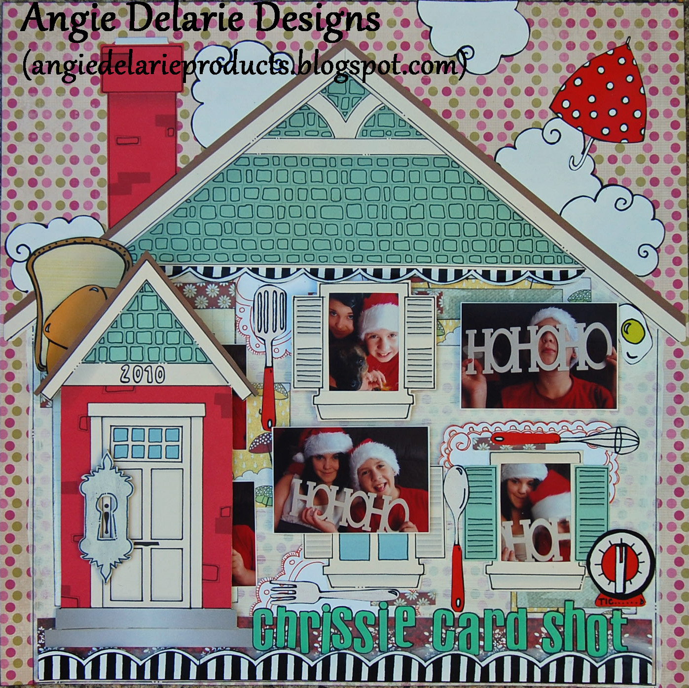 Angie Delarie: Scrapbooking Layouts For 2011