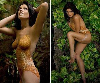 El Con Cine Bikini Greene Posa Según MushutitiAshley Paint yvb6fY7g