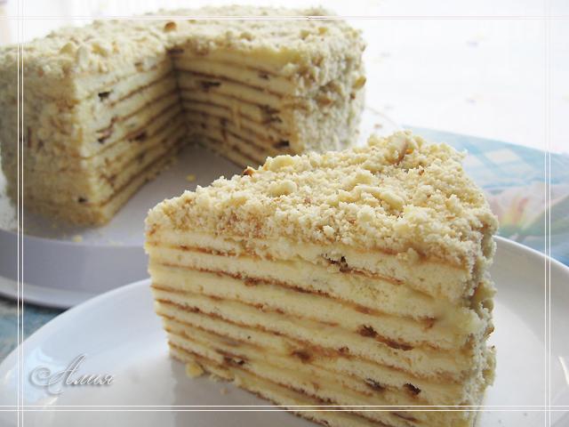 На сковороде рецепты тортов