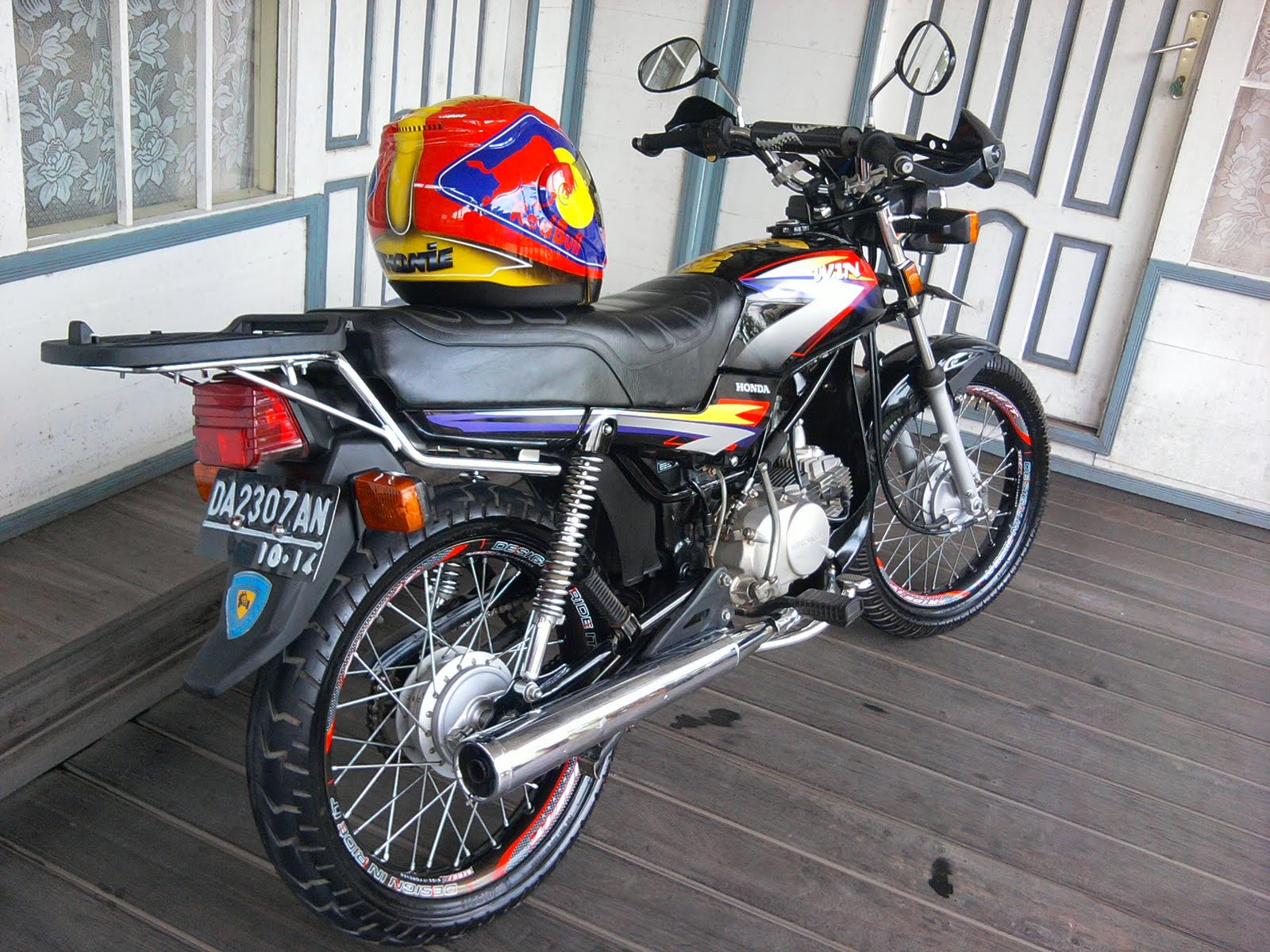 Modifikasi Motor Modifikasi Motor Honda Win Ceper