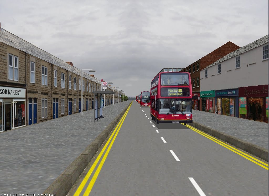 The Circle Of London London Bus Simulator