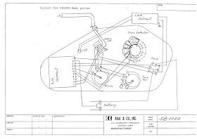 Aria Basses: Aria Pro II SB-1000 Wiring Schematics and Info