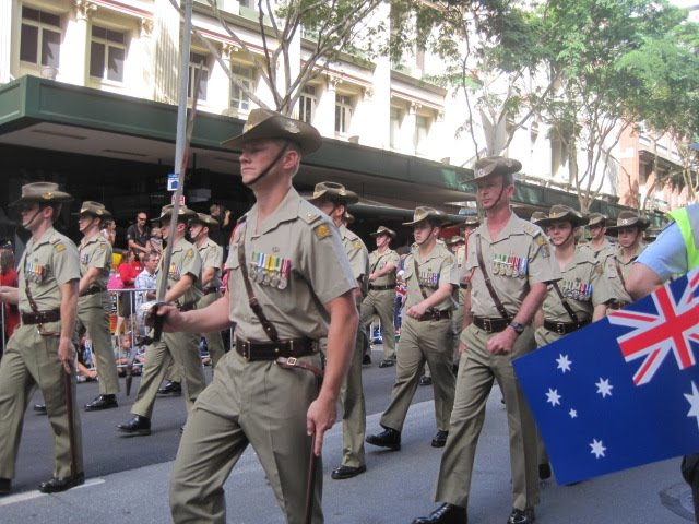 #TuesdayTune, ANZAC day, Tuesday Tune, Slim Dusty, Tuesday Tune Linky Party, ANZAC day Parade, Brisbane, Australia, Lest we Forget