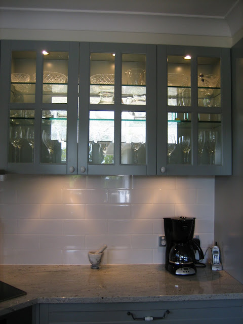 Gray French Provincial Kitchen @ www.natashainoz.com