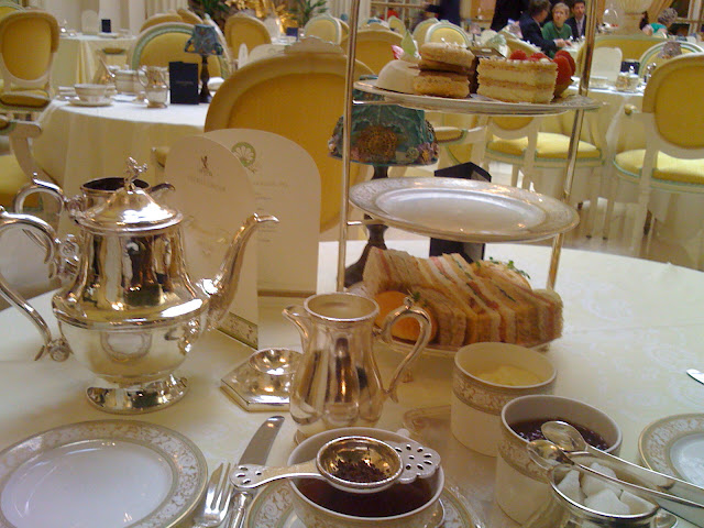 Tea Time around the world via Natasha in Oz