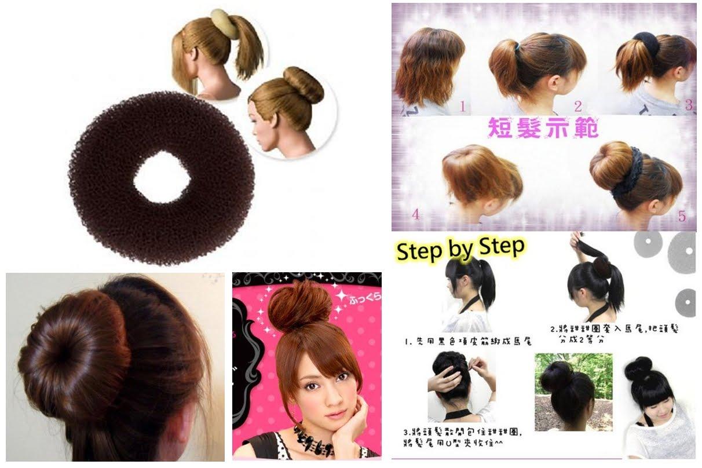 how to use a hair bun donut - photo #26