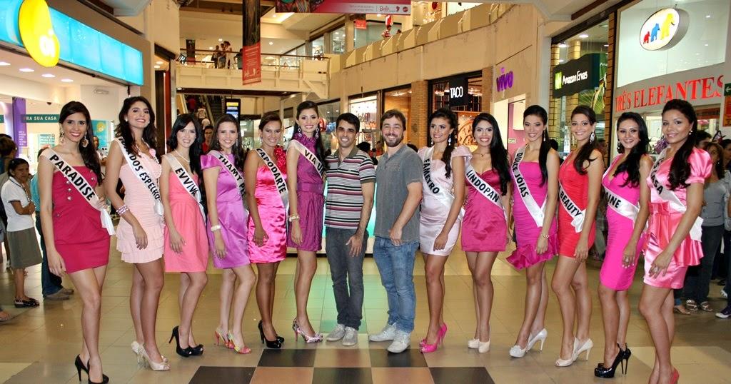 """O Respeito à Diferença é Que Traz Equilibrio Ao Mundo: Miss Amazonas Oficial: Misses Visitam Exposição """"Barbies"""