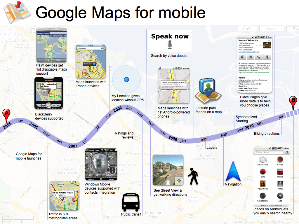 Google Lat Long: To 100 million and beyond with Google Maps