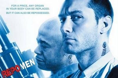 """Cine: """"Repo Men"""" con Jude Law"""