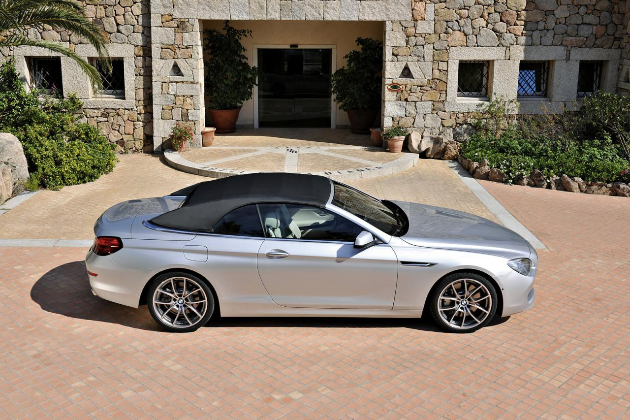 in4ride all new bmw 6 series convertible detailed. Black Bedroom Furniture Sets. Home Design Ideas