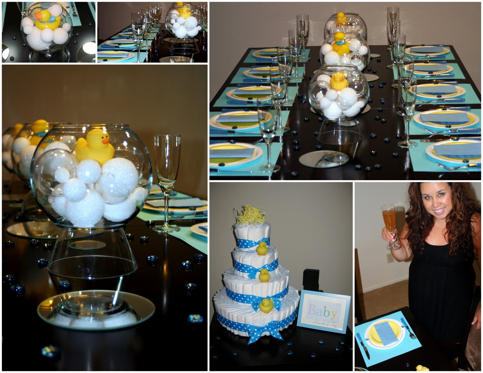 Rubber Ducky Baby Shower Decorations - Baby Shower ...