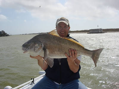 Black Drum, 34 inches, Dave Alexander