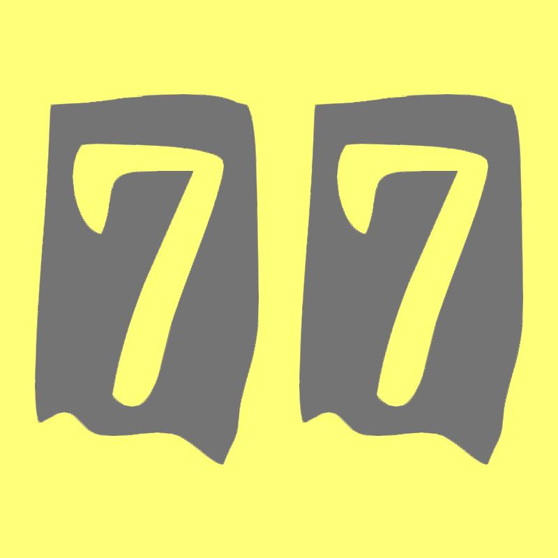 Image result for number 77