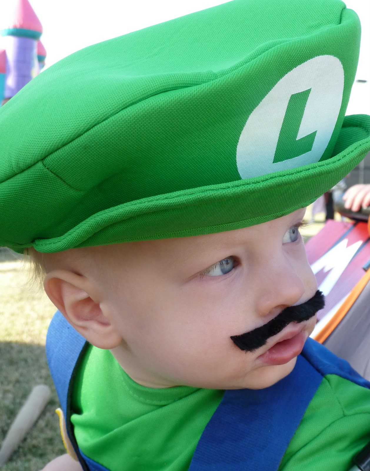Wheelchair Mario Portable High Chairs Beyond Measure And Luigi Take Over Halloween