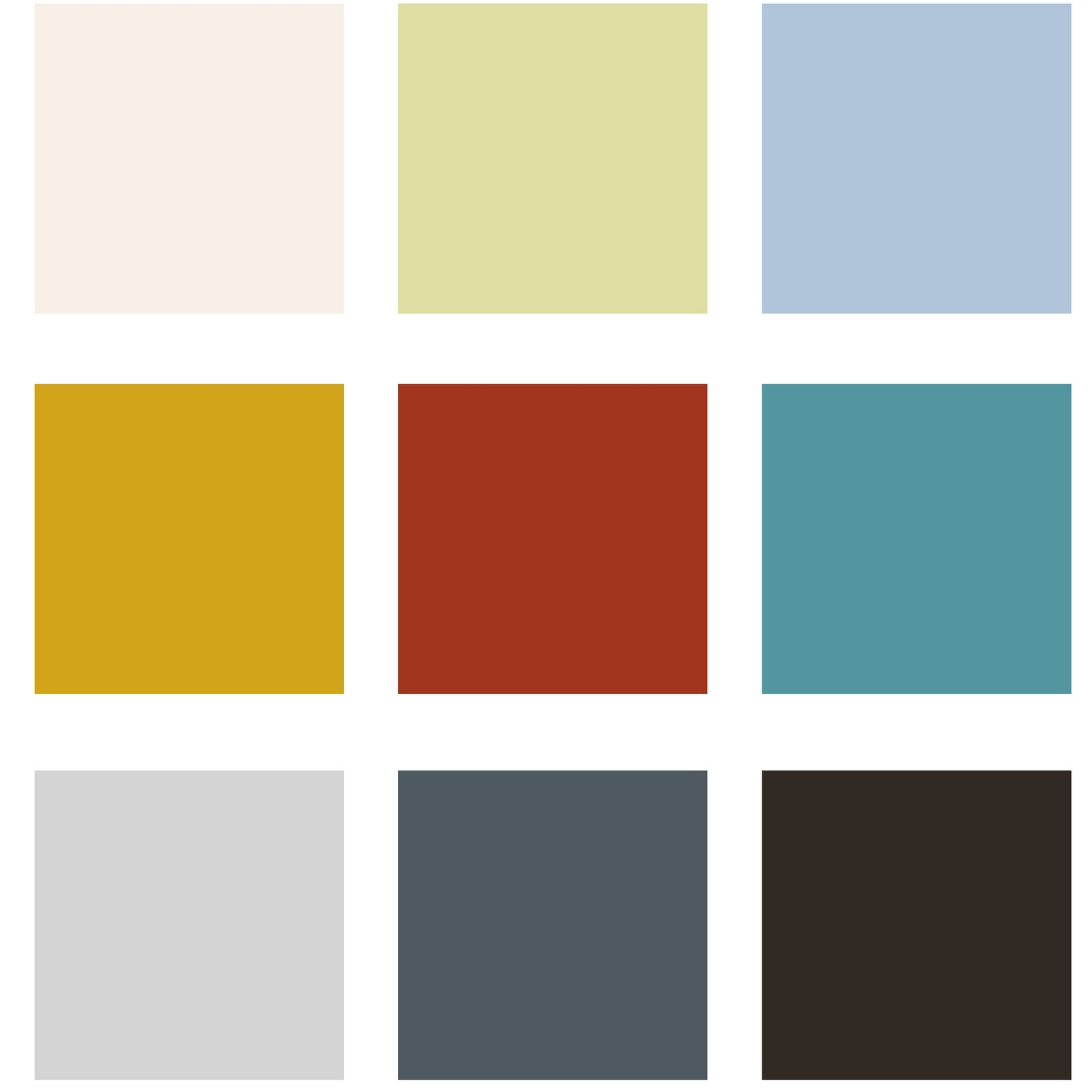 Inspire House Color Palette