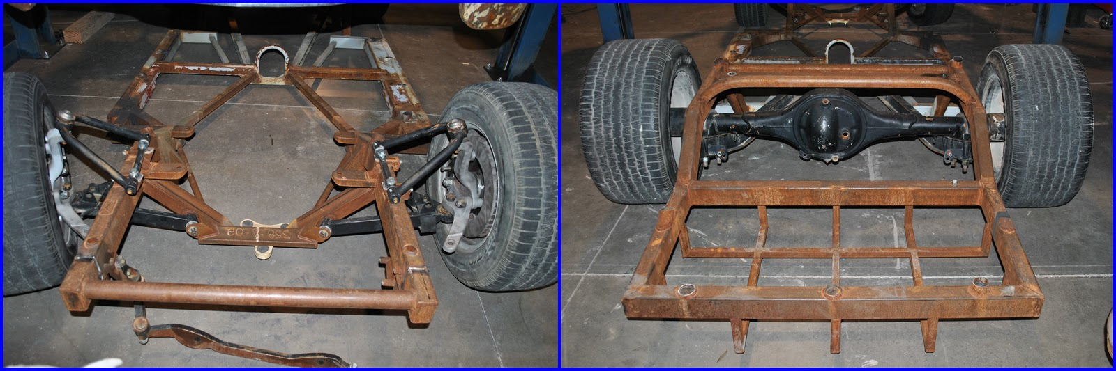 Project '51 Chevy Pickup: Chassis