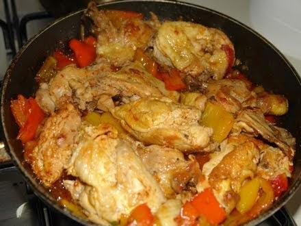 Pollo ai peperoni ecco la ricetta italiana ricette for Le ricette italiane