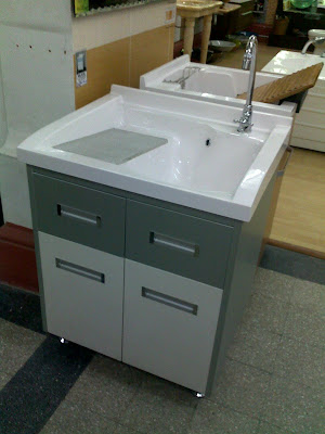 Decided To Get A Laundry Sink For My Washing Area This Will Make Life Easier Dont Need Squat Down And Scrub Uns If Needed Can Just Soak