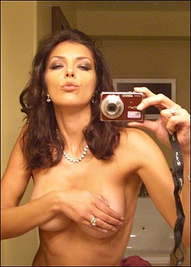 Seldom.. possible did ali landry get breast implants apologise that