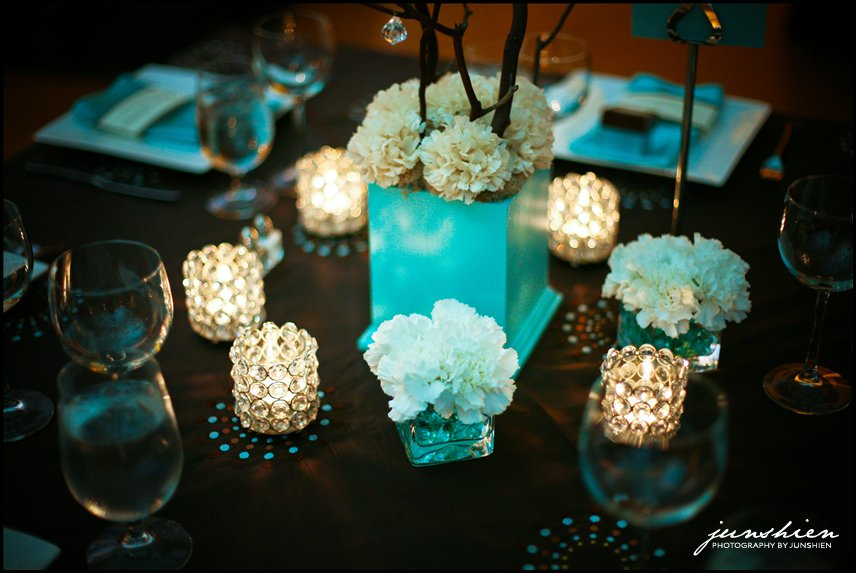 Brown And Teal Wedding Ideas: Huckleberry Karen: J + A Wedding