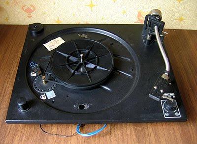 Как самому сделать виниловую вертушку начального уровня. Панель проигрывателя Unitra G-602.