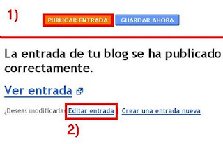 posicionar los post en blogger