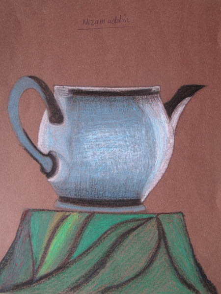 Art At Woodstock Drawing And Painting Oil Pastel Still Life