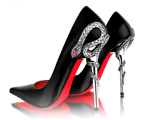 Shoe Fits Soul Searching While Sole Searching What The Heel Is Going On With These Snake