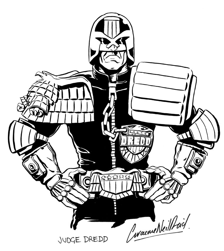 Judge Joe Dredd