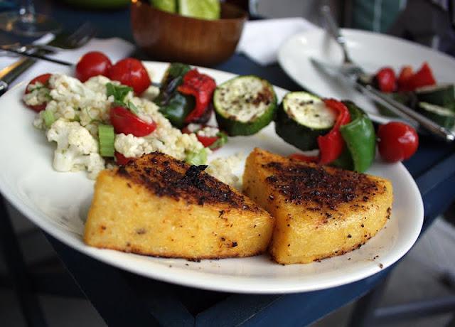 Oppskrift Polenta På Grillen Grillmat Veganmat Vegetarmat Hjemmelaget Grillkrydder