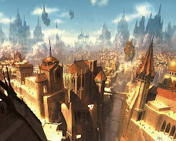 fantasy cities wallpapers magic ravnica background backgrounds concept von alphacoders anime wall medieval fantasia desktop gold mtg eberron five setting