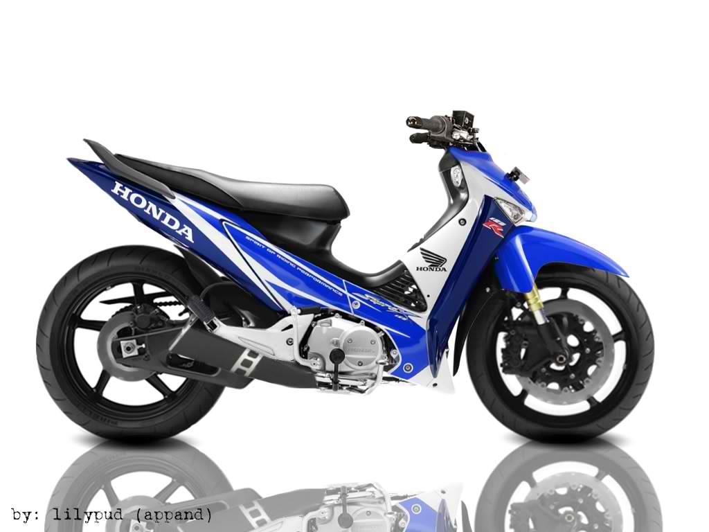 Gambar Modivikasi Motor  Foto Modivikasi Supra x 125 R