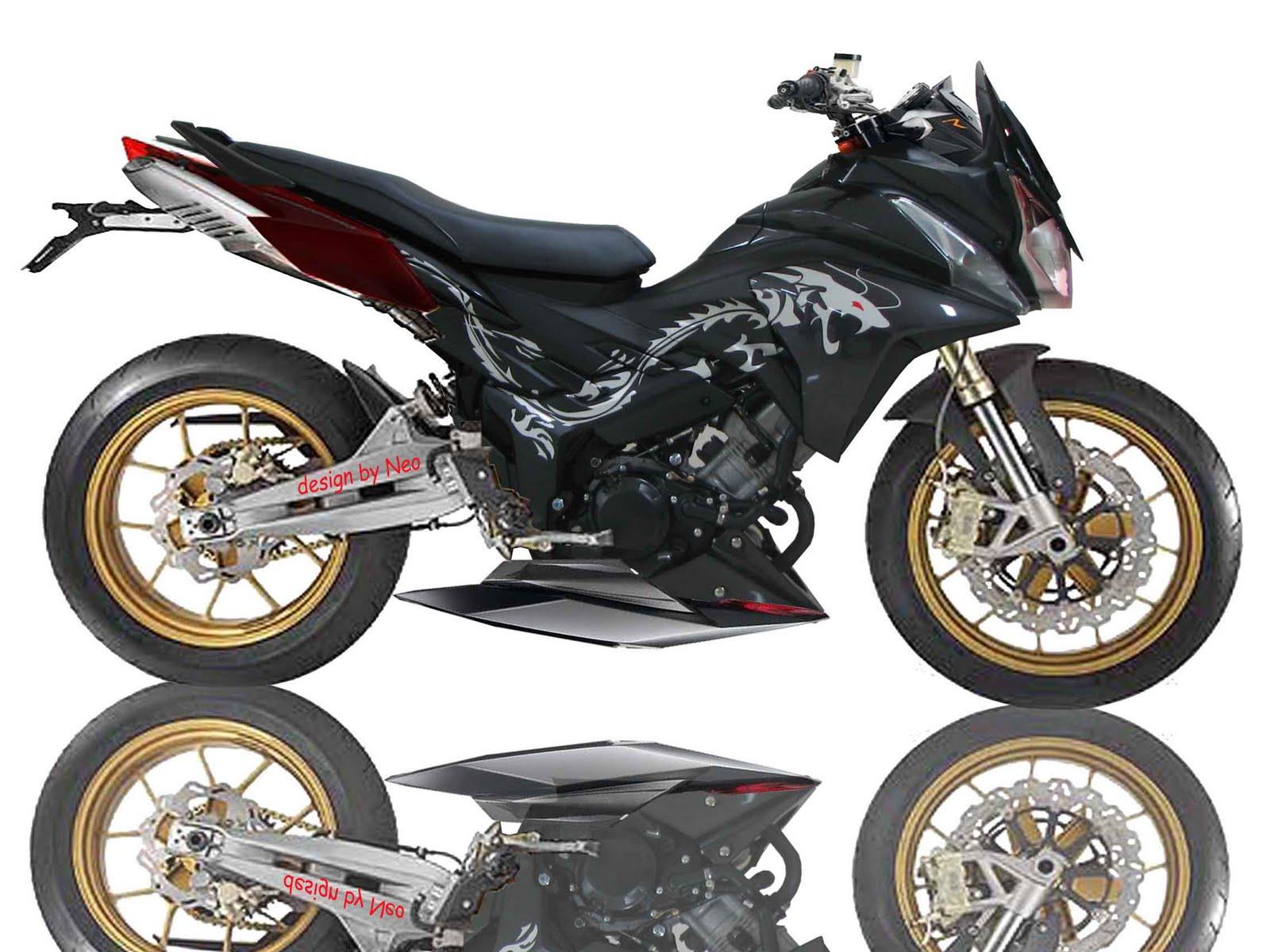Gallery Automotive: Gambar Modivikasi Motor CS1 Dragon