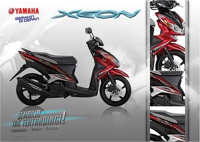 New Yamaha Xeon 125 New Scooter Matic  Foto Gambar