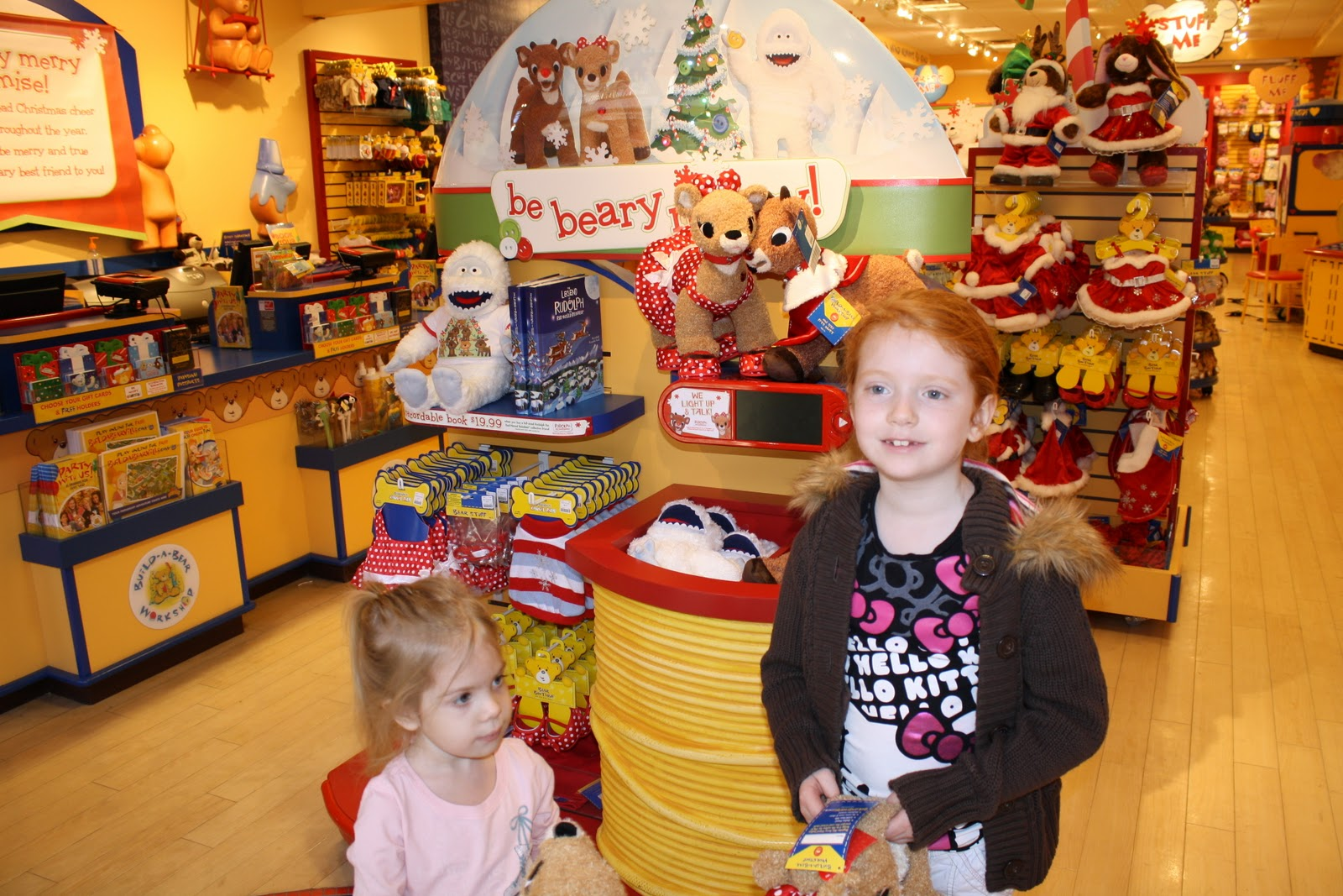Embracing A Healthy Family Build A Bear Workshop Review And 25 Gc