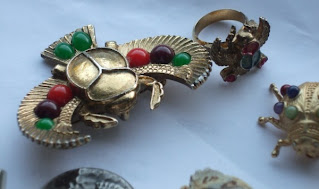Assorted Egyptian brooches in my collection
