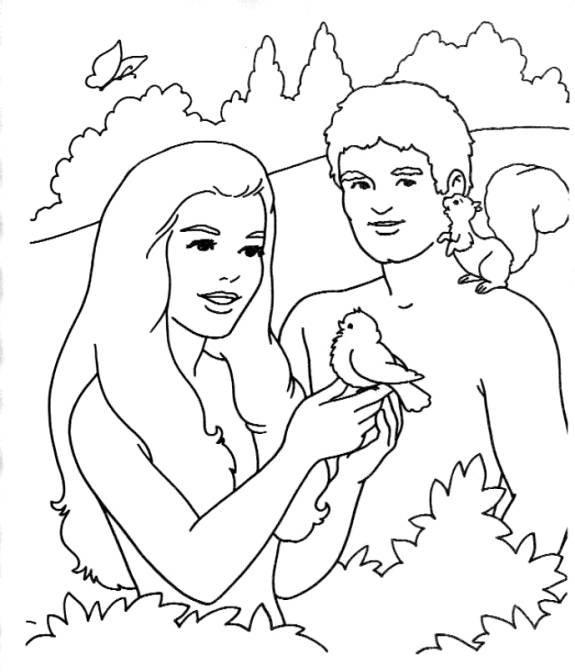 Jardim da Fé ♥: ADÃO E EVA