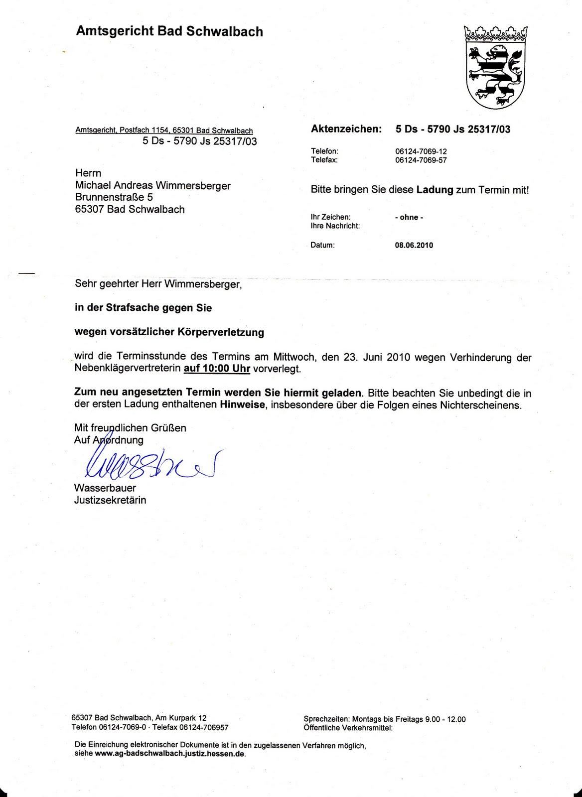 Folter Durch Scheinverfahren Scheinverfahren Ag Bad Schwalbach Und