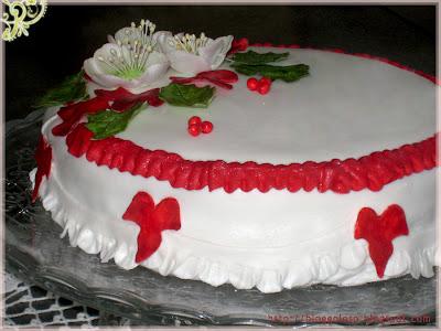 Amaretto Christmas Cake Recipe