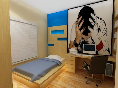 Gambar Desain Interior  Arsitektur Tempat tidur anak