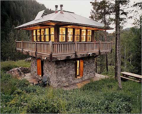 My home design log cabin kits for Green cabin kits