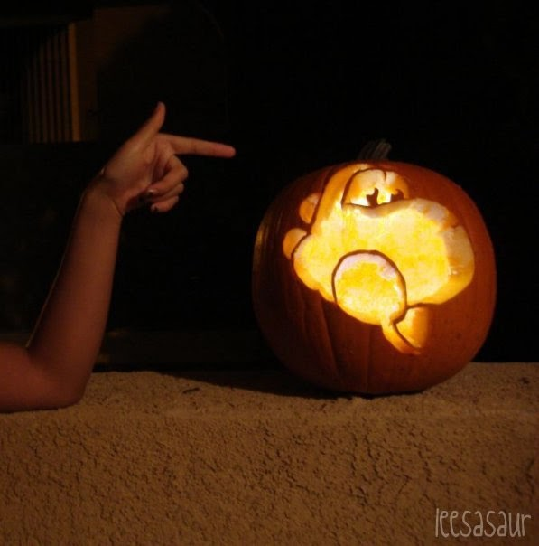 Sisterly Pumpkin Carving