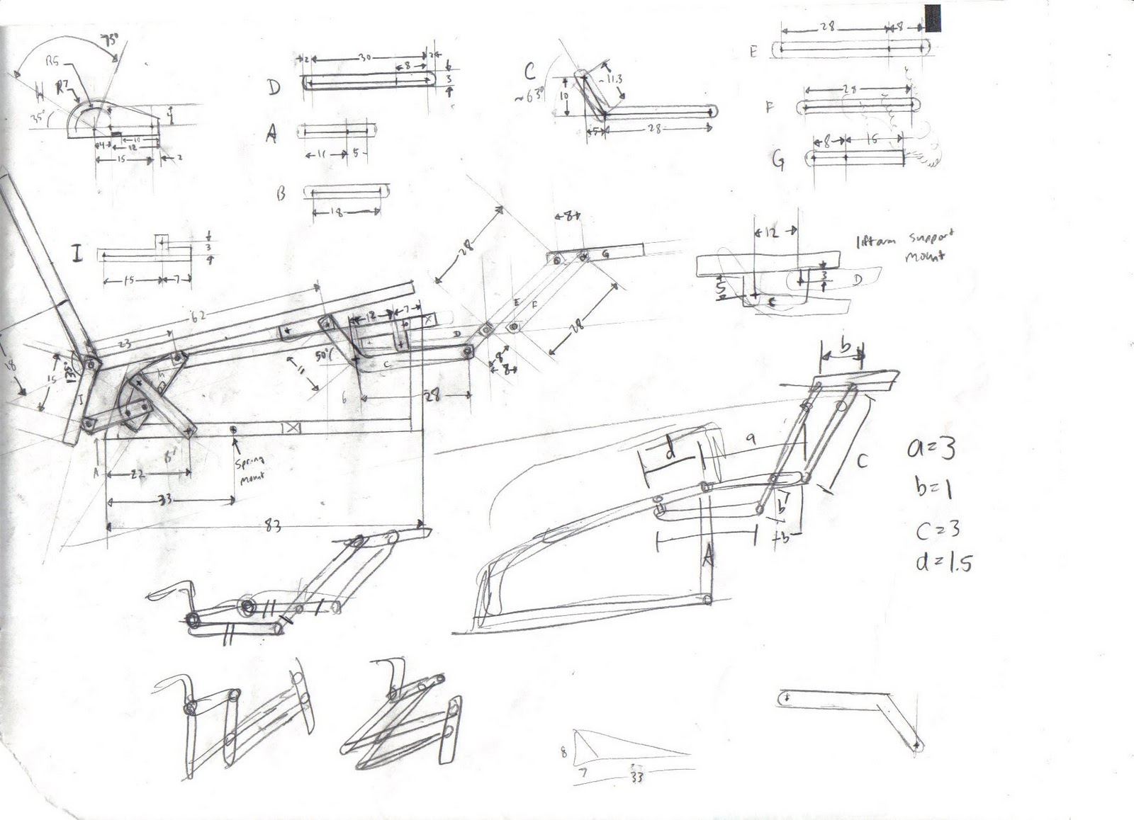 Fantastic Recliner Chair Diagram Of Recliner Chair Mechanism Machost Co Dining Chair Design Ideas Machostcouk