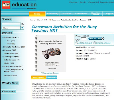 Classroom Activities for the Busy Teacher: NXT | The NXT STEP is EV3